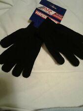 Ice Skating Black Gloves