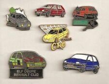 6x RENAULT CLIO-pins/pin/RENAULT CLIO 16v/Campus/la raccolta