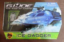 GI JOE Rise Of Cobra Ice Dagger with Frostbite NIB