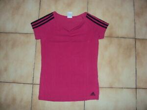 T-shirt fuschia Adidas 36 (14 ans) neuf