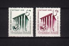 17415/ DR 1939 - Mi 692/3 - Reichsgartenschau - ** - M€ 20,00