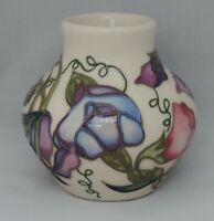 Moorcroft Sweetness Vase - 8cm tall