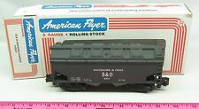 American Flyer ~ 4-9207 Baltimore & Ohio covered hopper