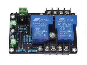 UPC1237 30A High Power Stereo Speaker Protection Board Delay Module AC 12V-16V