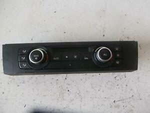 BMW 3 SERIES HEATER/AC CONTROLS E90-E92, NON SEAT WARMER, 09/09-09/11 09 10 11