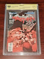 BATMAN # 1 3rd Printing The new 52!  CBCS 9.8 Signed by Scott Snyder