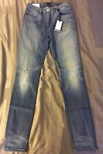 3x1 Denim Women's High Rise Stonewashed Light Blue Skinny Jeans Size 27 NWT $285
