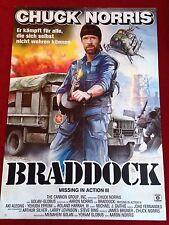 Braddock Missing in Action 3 Kinoplakat A1 Chuck Norris