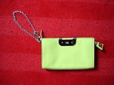 Diane Von Furstenberg DVF Patent Leather Green Clutch Chain Purse Handbag Mint