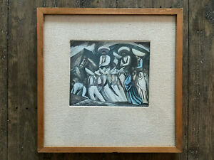 C. 1939 Jose Clemente Orozco Zapatistas Marching Framed Print
