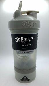 Blender Bottle ProStak 22 oz Free Shipping!! Gray / Grey Color
