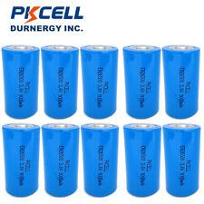 10 x ER26500 3.6V 9000mAh LiSOCL2 Battery C SIZE High Energy Li-SOCL2 Batteries