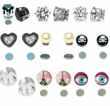 Alloy Holiday Clip Costume Earrings
