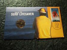 """RAM - 2007 """"Surf Lifesaver"""" PNC - 20 Cent Coin - UNC & $2.45 3D Stamp - Scarce"""