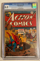 ACTION COMICS #92 CGC 6.0 OW/W PAGES (1946) DC COMICS SUPERMAN