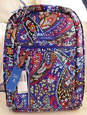 Vera Bradley Lighten up Grand Backpack Laptop Petite Paisley Retail