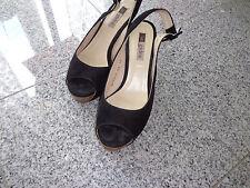 Gadea Damen Sandaletten Gr: 36; Schwarz; Echt Leder
