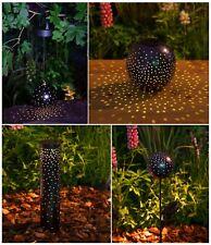 Noma Starry Nights Solar Powered Garden Light Silhouette Bollard, Table, Hanging