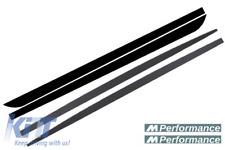 Minigonne laterali Add-on Lip estensioni con decalcomanie nero opaco BMW F10 F1
