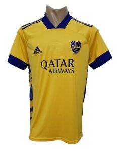 BOCA JUNIORS AWAY 3RD SOCCER JERSEY YELLOW 2020 2021