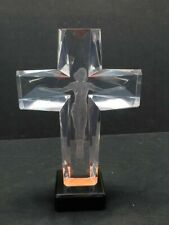 Frederick Hart Lucite  Acrylic sculpture CROSS of the MILLENNIUM II Make Offer
