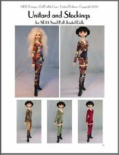 """Unitards & Stockings"" -  24"" (60 cm) BJD Ball Jointed Doll Clothing Pattern"
