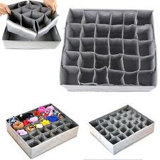 Home Storage Box Drawer Closet 30Grids Storage Box Bra Underwear Socks Organizer