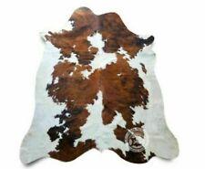 Cowhide Rug Skin Print White Faux Cow Hide Premium Quality