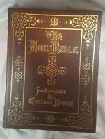 The Holy Bible Illustrated by Gustave Dore Easton Press Leather Family Bible