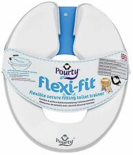 Pourty Flexi Toilette Basket Gris Bébé Enfant Siège Unisexe 18m + Entraînement