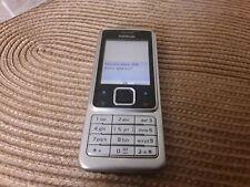 Nokia 6300 2MP, Bluetooth (Ohne Simlock) Handy - silber
