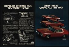 1974 PLYMOUTH ROAD RUNNER - CUDA - DUSTER 360 Muscle Cars - BARRACUDA VINTAGE AD
