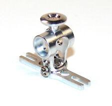 Alu CNC Rotorkopf E-flite Blade mCPX Tuning Silber