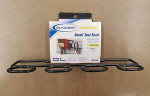 SUNCAST STORAGE TRENDS SMALL TOOL RACK - MTR4B - HOLDS 4 TOOLS