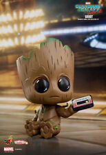 Cute Figure Guardians of the Galaxy Vol 2 Groot Cosbaby Bobble head Marvel toy