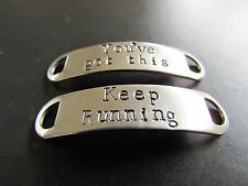 Inspirational Shoe tags - Keep Running - You've Got This - - suit fitness,health