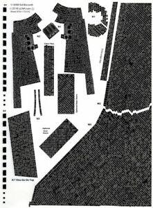 1/72 scale Shuttle Orbiter Standard Black Tile Decal Set