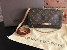 Authentic Louis Vuitton Monogram Favorite PM Crossbody Bag