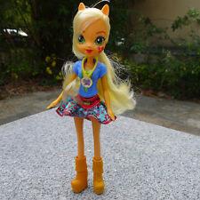 "My Little Pony Equestria Girls 9"" Doll Friendship Games Applejack New Loose"