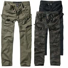 Brandit Adven Slim Fit Cargo Trousers Vintage Cargohose Army Style Outdoor S-XXL