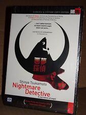 """NIGHTMARE DETECTIVE """"Il Cacciatore di Sogni"""" DVD Shinya Tsukamoto SIGILLATO!!!"""