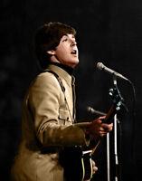 "The Beatles Paul McCartney Wall Art Photo Print  8.5 x 11"""