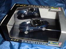 """Modellauto , Revell Premium 1:43 , BMW  Z 8 """"Topaz Blue"""" , limitierte Auflage"""