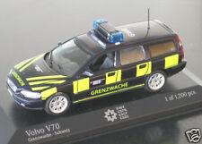 """wonderful Swiss modelcar VOLVO V70 """"GRENZWACHE GWK"""" 2009 - 1/43 - lim.edition"""