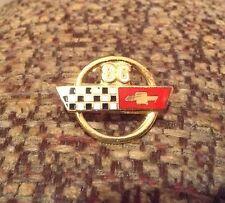 1986 Corvette Emblem Hat Pin Lapel Pin, NEW
