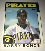 1986 Topps Traded Barry Bonds Pittsburgh Pirates #11T Baseball Card