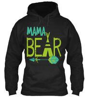 Easy-care Mama Bear - Gildan Hoodie Sweatshirt Gildan Hoodie Sweatshirt