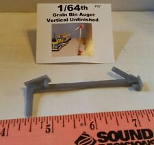 1/64 Silver Standi Toys Grain Bin vertical auger Ertl Farm Toy Building display