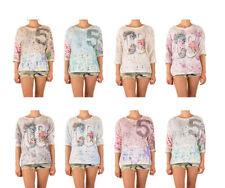 3/4 Arm Damenblusen, - tops & -shirts mit U-Ausschnitt M
