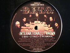 "D.I.T.C. - INTERNATIONALLY KNOWN / DA ENEMY (12"")  1997!!  RARE!!  DJ PREMIER!!!"